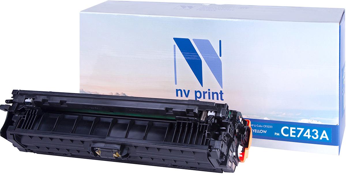 NV Print CE743AM, Magenta тонер-картридж для HP Color LaserJet CP5220NV-CE743AMСовместимый лазерный картридж NV Print CE743AM для печатающих устройств HP - это альтернатива приобретению оригинальных расходных материалов. При этом качество печати остается высоким. Картридж обеспечивает повышенную четкость изображения и плавность переходов оттенков и полутонов, позволяют отображать мельчайшие детали изображения. Лазерные принтеры, копировальные аппараты и МФУ являются более выгодными в печати, чем струйные устройства, так как лазерных картриджей хватает на значительно большее количество отпечатков, чем обычных. Для печати в данном случае используются не чернила, а тонер.