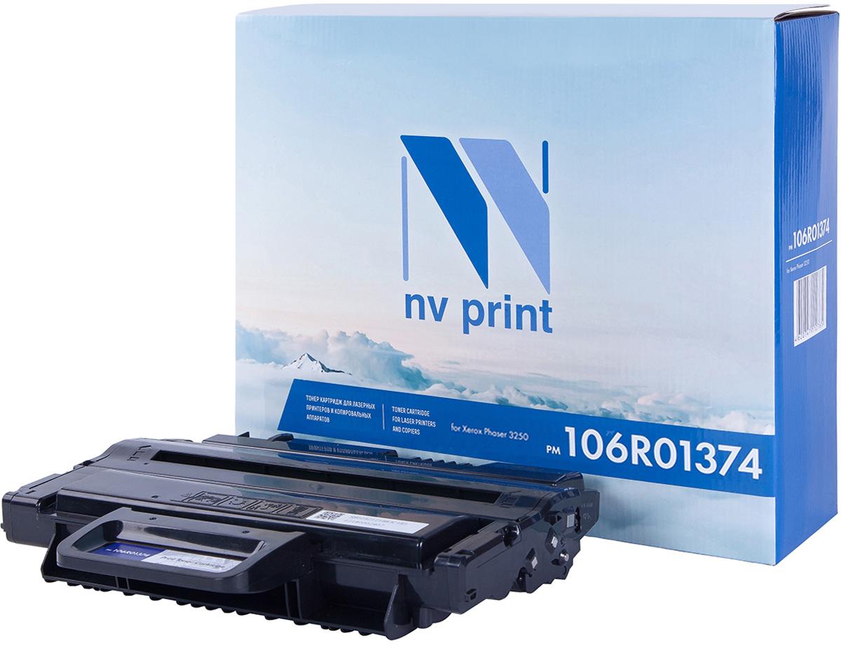 NV Print NV-106R01374, Black тонер-картридж для Xerox Phaser 3250NV-106R01374Совместимый лазерный картридж NV Print NV-106R01374 для печатающих устройств Xerox - это альтернатива приобретению оригинальных расходных материалов. При этом качество печати остается высоким. Картридж обеспечивает повышенную чёткость чёрного текста и плавность переходов оттенков серого цвета и полутонов, позволяет отображать мельчайшие детали изображения.Лазерные принтеры, копировальные аппараты и МФУ являются более выгодными в печати, чем струйные устройства, так как лазерных картриджей хватает на значительно большее количество отпечатков, чем обычных. Для печати в данном случае используются не чернила, а тонер.