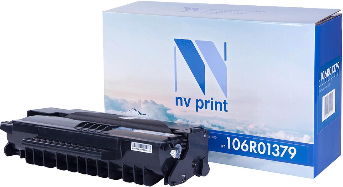 NV Print NV-106R01379, Black тонер-картридж для Xerox Phaser 3100MFPNV-106R01379Совместимый лазерный картридж NV Print NV-106R01379 для печатающих устройств Xerox - это альтернатива приобретению оригинальных расходных материалов. При этом качество печати остается высоким. Картридж обеспечивает повышенную чёткость чёрного текста и плавность переходов оттенков серого цвета и полутонов, позволяет отображать мельчайшие детали изображения. Лазерные принтеры, копировальные аппараты и МФУ являются более выгодными в печати, чем струйные устройства, так как лазерных картриджей хватает на значительно большее количество отпечатков, чем обычных. Для печати в данном случае используются не чернила, а тонер.
