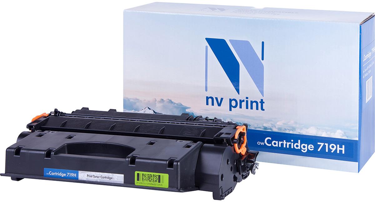 NV Print NV-719H, Black тонер-картридж для Canon i-Sensys LBP6300/LBP6650/MF5840/MF5880NV-719HСовместимый лазерный картридж NV Print NV-719H для печатающих устройств Canon - это альтернатива приобретению оригинальных расходных материалов. При этом качество печати остается высоким. Картридж обеспечивает повышенную чёткость чёрного текста и плавность переходов оттенков серого цвета и полутонов, позволяет отображать мельчайшие детали изображения. Лазерные принтеры, копировальные аппараты и МФУ являются более выгодными в печати, чем струйные устройства, так как лазерных картриджей хватает на значительно большее количество отпечатков, чем обычных. Для печати в данном случае используются не чернила, а тонер.