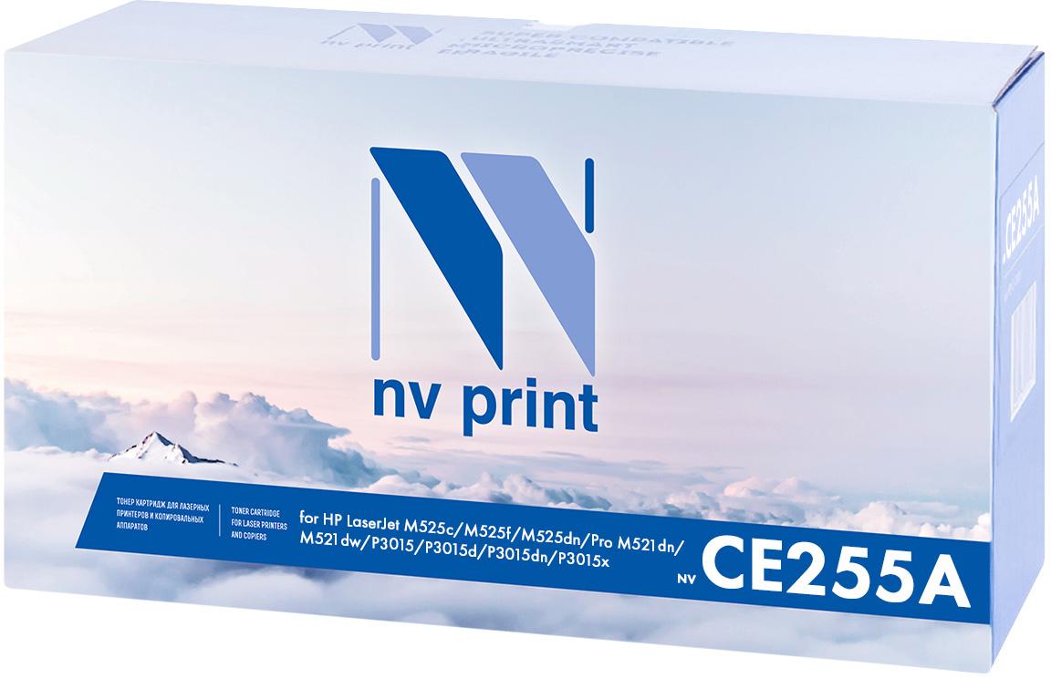 NV Print NV-CE255A, Black тонер-картридж для HP LaserJet Р3015NV-CE255AСовместимый лазерный картридж NV Print NV-CE255A для печатающих устройств HP - это альтернатива приобретению оригинальных расходных материалов. При этом качество печати остается высоким. Картридж обеспечивает повышенную чёткость чёрного текста и плавность переходов оттенков серого цвета и полутонов, позволяет отображать мельчайшие детали изображения. Лазерные принтеры, копировальные аппараты и МФУ являются более выгодными в печати, чем струйные устройства, так как лазерных картриджей хватает на значительно большее количество отпечатков, чем обычных. Для печати в данном случае используются не чернила, а тонер.