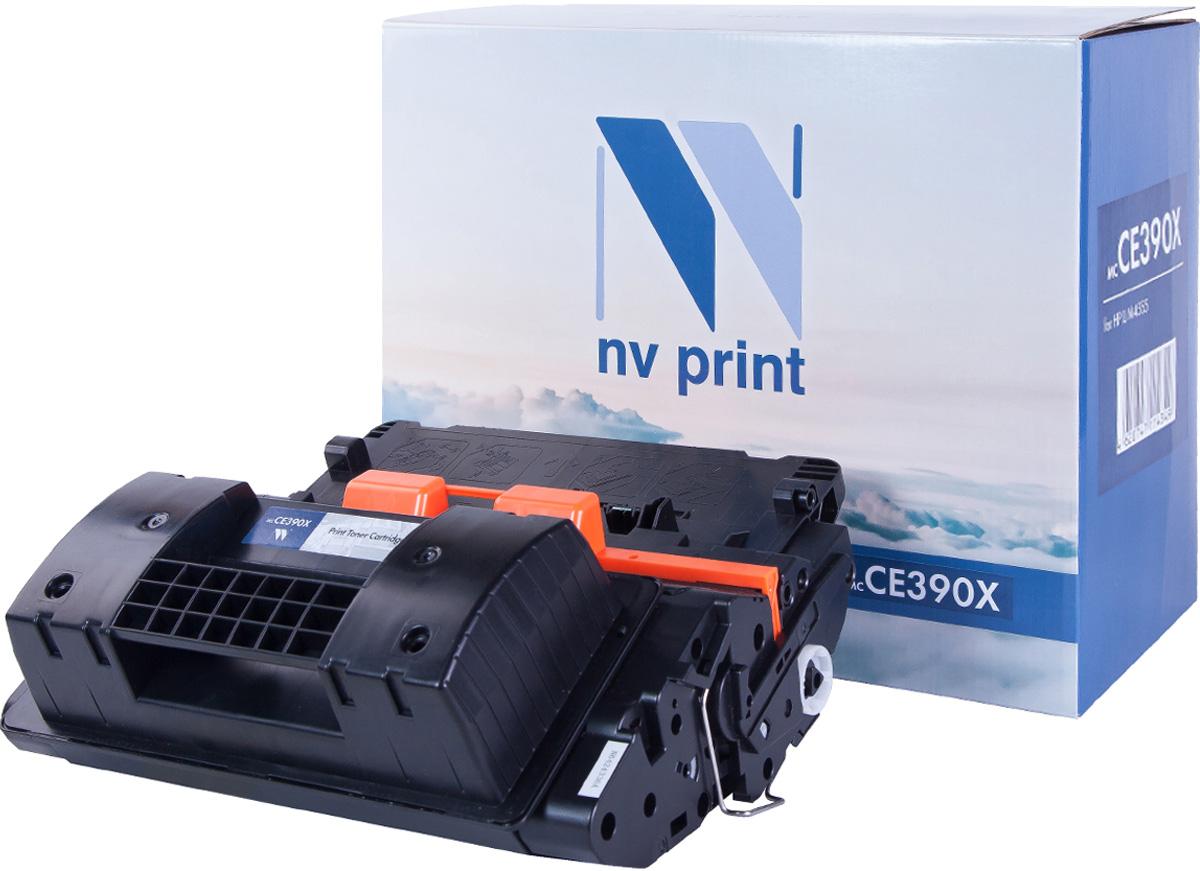 NV Print NV-CE390X, Black тонер-картридж для HP LaserJet M4555MFP/600/M601N/601DN/602N/602DN/602X/603N/603DN/603XHNV-CE390XСовместимый лазерный картридж NV Print NV-CE390X для печатающих устройств HP - это альтернатива приобретению оригинальных расходных материалов. При этом качество печати остается высоким. Картридж обеспечивает повышенную чёткость чёрного текста и плавность переходов оттенков серого цвета и полутонов, позволяет отображать мельчайшие детали изображения.Лазерные принтеры, копировальные аппараты и МФУ являются более выгодными в печати, чем струйные устройства, так как лазерных картриджей хватает на значительно большее количество отпечатков, чем обычных. Для печати в данном случае используются не чернила, а тонер.