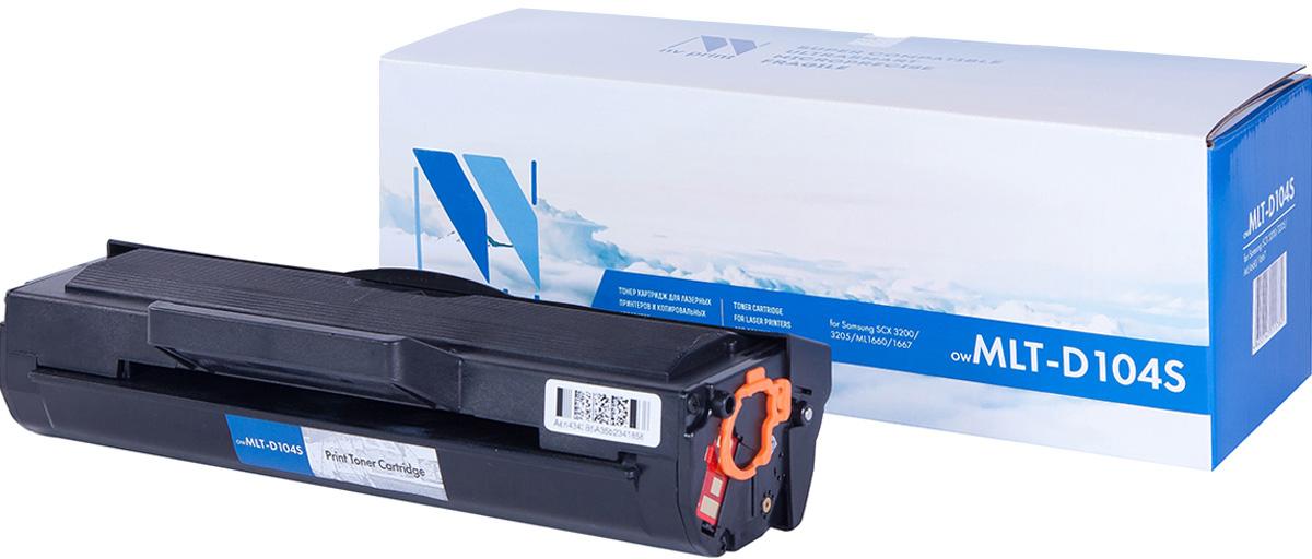 NV Print NV-MLTD104S, Black тонер-картридж для Samsung ML-1660/ML-1661/ML-1665/ML-1667/SCX-3200/SCX-3205/SCX-3217NV-MLTD104SСовместимый лазерный картридж NV Print NV-MLTD104S для печатающих устройств Samsung - это альтернатива приобретению оригинальных расходных материалов. При этом качество печати остается высоким. Картридж обеспечивает повышенную чёткость чёрного текста и плавность переходов оттенков серого цвета и полутонов, позволяет отображать мельчайшие детали изображения. Лазерные принтеры, копировальные аппараты и МФУ являются более выгодными в печати, чем струйные устройства, так как лазерных картриджей хватает на значительно большее количество отпечатков, чем обычных. Для печати в данном случае используются не чернила, а тонер.