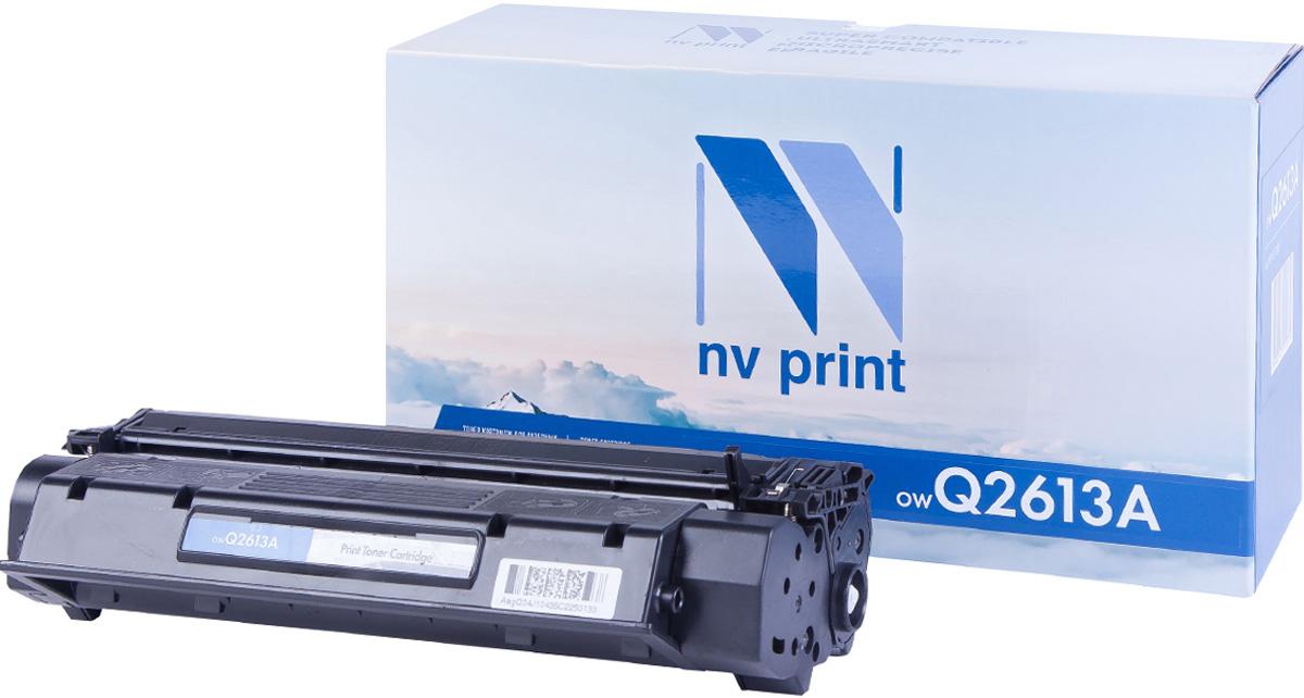 NV Print Q2613A, Black тонер-картридж для HP LaserJet 1300NV-Q2613AСовместимый лазерный картридж NV Print Q2613A для печатающих устройств HP - это альтернатива приобретению оригинальных расходных материалов. При этом качество печати остается высоким. Картридж обеспечивает повышенную чёткость и плавность переходов оттенков цвета и полутонов, позволяет отображать мельчайшие детали изображения.Лазерные принтеры, копировальные аппараты и МФУ являются более выгодными в печати, чем струйные устройства, так как лазерных картриджей хватает на значительно большее количество отпечатков, чем обычных. Для печати в данном случае используются не чернила, а тонер.