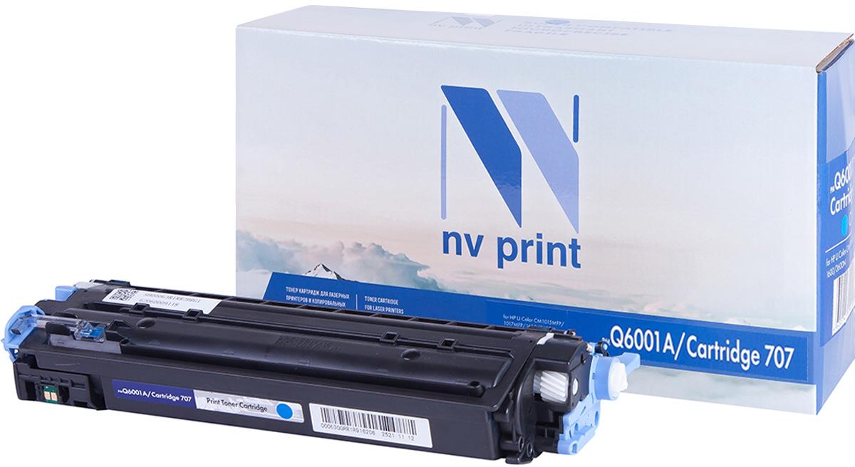 NV Print Q6001A/CAN707C, Cyan тонер-картридж для HP Color LJ CM1015MFP/CM1017MFP1600/2600N/2605/Canon LBP 5000NV-Q6001A/CAN707CСовместимый лазерный картридж NV Print Q6001A/CAN707C для печатающих устройств HP и Canon - это альтернатива приобретению оригинальных расходных материалов. При этом качество печати остается высоким. Картридж обеспечивает повышенную чёткость и плавность переходов оттенков цвета и полутонов, позволяет отображать мельчайшие детали изображения. Лазерные принтеры, копировальные аппараты и МФУ являются более выгодными в печати, чем струйные устройства, так как лазерных картриджей хватает на значительно большее количество отпечатков, чем обычных. Для печати в данном случае используются не чернила, а тонер.