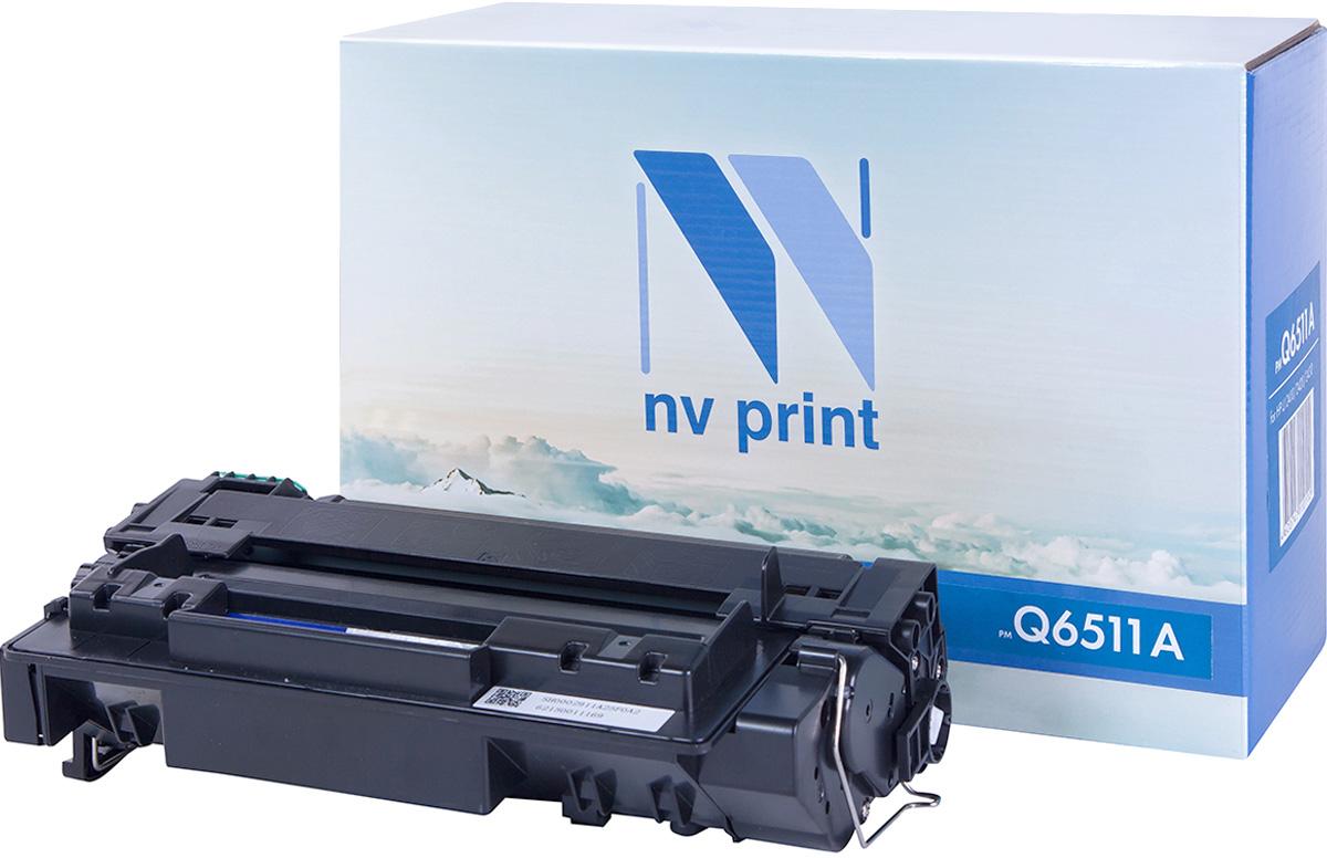 NV Print Q6511A, Black тонер-картридж для HP LaserJet 2410/2420/2430NV-Q6511AСовместимый лазерный картридж NV Print Q6511A для печатающих устройств HP - это альтернатива приобретению оригинальных расходных материалов. При этом качество печати остается высоким. Картридж обеспечивает повышенную чёткость чёрного текста и плавность переходов оттенков серого цвета и полутонов, позволяет отображать мельчайшие детали изображения.Лазерные принтеры, копировальные аппараты и МФУ являются более выгодными в печати, чем струйные устройства, так как лазерных картриджей хватает на значительно большее количество отпечатков, чем обычных. Для печати в данном случае используются не чернила, а тонер.