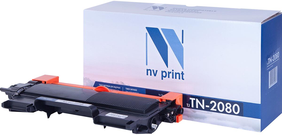 NV Print TN2080, Black тонер-картридж для Brother HL2130/DCP7055NV-TN2080Совместимый лазерный картридж NV Print TN2080 для печатающих устройств Brother - это альтернатива приобретению оригинальных расходных материалов. При этом качество печати остается высоким. Картридж обеспечивает повышенную чёткость и плавность переходов оттенков цвета и полутонов, позволяет отображать мельчайшие детали изображения. Лазерные принтеры, копировальные аппараты и МФУ являются более выгодными в печати, чем струйные устройства, так как лазерных картриджей хватает на значительно большее количество отпечатков, чем обычных. Для печати в данном случае используются не чернила, а тонер.