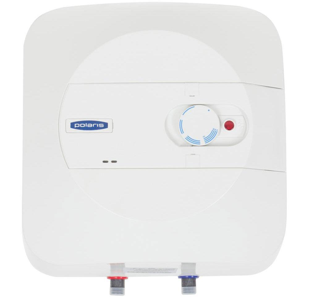 Polaris P 15 (OR) водонагреватель накопительный003163Накопительный водонагреватель Polaris P 15 (OR) объемом 15 литров и мощностью 1500 Вт быстро нагревает воду. Это компактный водонагреватель с возможностью установки над мойкой (OR). Внутренний бак выполнен из высококачественной эмали, а магниевый анод обеспечивает дополнительную защиту водонагревателя от коррозии. Регулировать температуру нагрева можно с помощью внешнего регулятора, который расположен на передней панели прибора. Водонагреватель имеет прямоугольный эргономичный корпус, благодаря чему он идеально впишется в небольшое пространство. Управление осуществляется с помощью внешнего терморегулятора, расположенного на передней панели. Прибор имеет трехуровневую систему безопасности от перегрева и протечек.