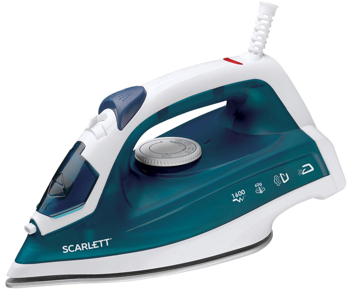 Scarlett SC-SI30P07, Dark Green утюгSC-SI30P07Утюг Scarlett SC-SI30P07 приятно порадует легким скольжением и увеличенным количеством паровых отверстий (43 реальных паровых отверстия). Это позволяет быстро и максимально аккуратно проглаживать различные виды ткани. Данная модель имеет плавную регулировку, позволяющую эффективно справляться с деликатной одеждой. Предусматривается вместительный резервуар для воды на 200 мл. Подошва SimplePro имеет повышенные антипригарные свойства, быстро нагревается и не требует сложного ухода. Она оснащена удобным желобком для пуговиц.