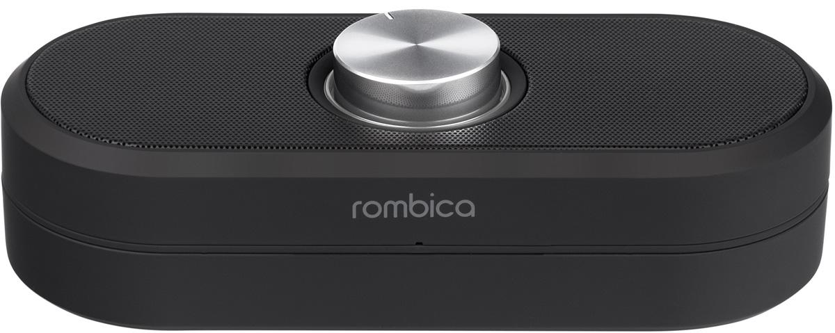 Rombica MySound BT-06, Black портативная акустическая системаSBT-00060Портативная акустическая система Rombica MySound BT-06 совместима со всеми популярными устройствами с поддержкой Bluetooth, а также воспроизводит музыку через аудиовход. Оснащена удобным круглым регулятором громкости. Аккумулятор 500 мАч обеспечивает долгую работу. MySound BT-04 1C поддерживает прием звонков с телефона через громкую связь.