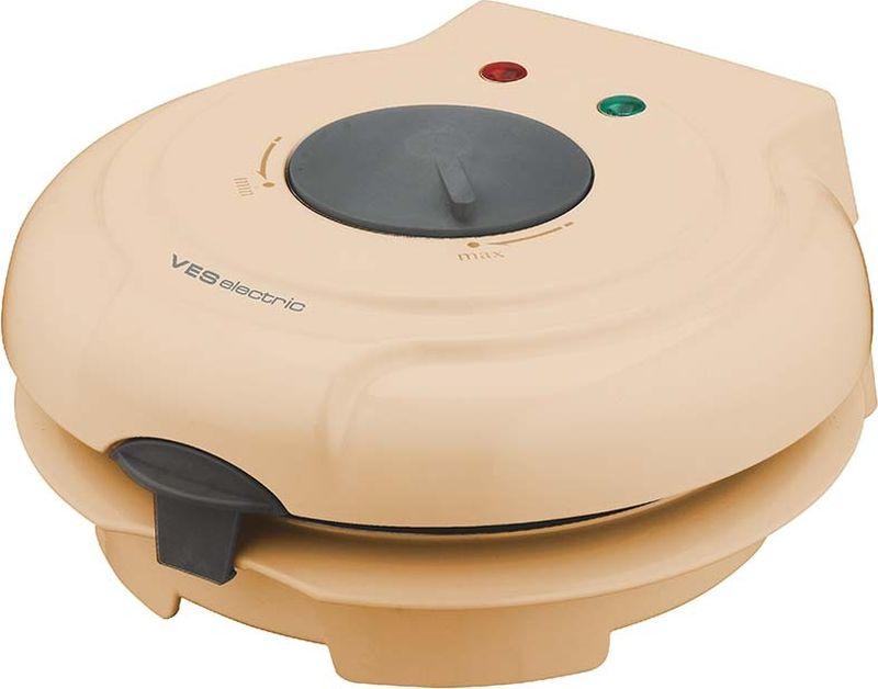 Ves SK-A8-Y вафельницаSK-A8-YВозможность выпечки вафельных коржей, трубочек и рожков Мощность 750 Вт Термостат Индикаторы питания и готовности Антипригарное покрытие Пластиковый конус-формовка в комплекте