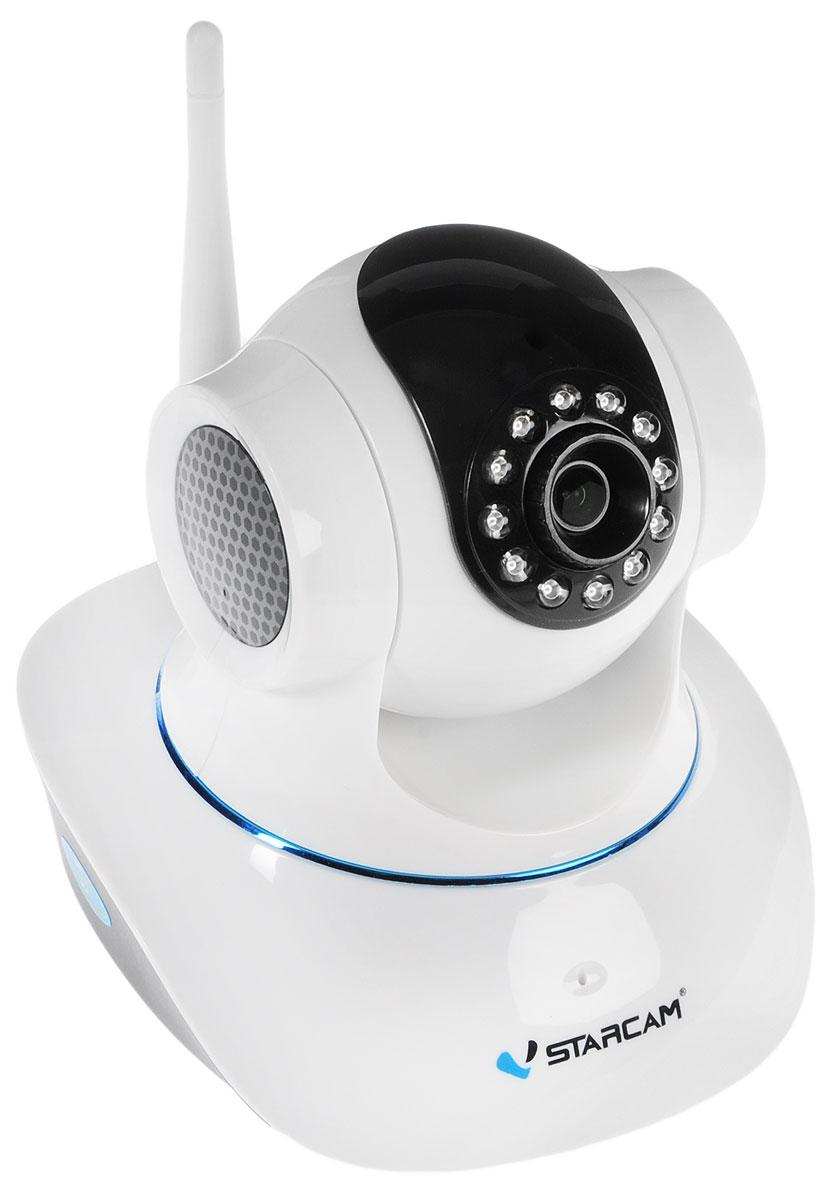 Vstarcam С7835WIP IP камера видеонаблюдения1600000360280Vstarcam С7835WIP - поворотная IP камера с поддержкой технологии P2P, инфракрасной подсветкой до 10 метров, максимально простой настройкой и современным дизайном. Это идеальное решение для помещений, надежное и качественное. Камера подойдет тем, кто хочет организовать простую, но функциональную систему видеонаблюдения. Вы можете просматривать видеоизображение с камеры на компьютере, планшете, смартфоне Apple или Android. Настройка камеры понятна и проста, и займет, даже у не подготовленного человека, не более минуты.