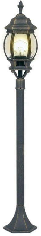 Светильник уличный 3в1 Duwi Praha, цвет: черное золото, 533-915-1115 мм. 24094 524094 5Наземный садово-парковый светильник столб-фонарь - один из четырех садово-парковых светильников серии Прага. Светильники этой серии отличаются исполнением в старом европейском стиле, что несомненно придаст дополнительное очарование вашему дому и участку. Отличительная особенность - возможность сборки в трех размерах: 533/915/1115мм.