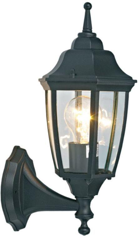 Светильник уличный Duwi Sheffield, цвет: черный, 390 мм. 25707 325707 3Настенный светильник бра вверх черного цвета серии Sheffield выполнен в средневековом стиле.