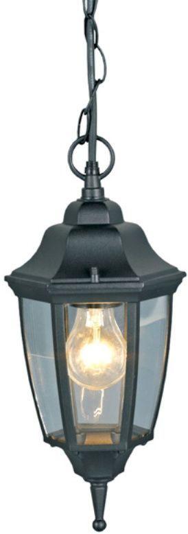 Светильник уличный Duwi Sheffield, цвет: черный, 970 мм. 25716 525716 5Подвесной потолочный светильник на длинной цепочке черного цвета серии Sheffield выполнен в средневековом стиле.