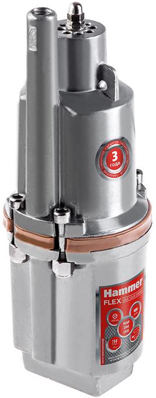 Hammer NAP200 (40) погружной вибрационный насосNap200 (40)Насос вибрационный погружной HAMMER NAP200 (40) применяется для перекачки переносной и подъема чистой воды из скважин, колодцев на высоту до 40 метров. Отличается малым потреблением электрической энергии. Вал двигателя из нержавеющей стали и алюминиевый полированный корпус обеспечивают повышенную надежность и продлевают срок службы насоса. Вибрационный насос HAMMER NAP200 (40) оснащен системой термозащиты и длинным кабелем 40 м. Верхний забор воды способствует охлаждению электромагнитной системы, защищает от чрезмерной перегрузки и препятствует замутнению воды. Подходит для перекачки жидкости на большие горизонтальные расстояния - до 150 метров.