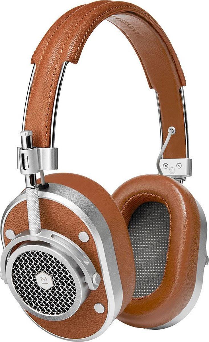 Master & Dynamic MH40S2 наушники15119128Полноразмерные наушникиВеликолепный звук и отличная шумоизоляцияИзлучатели на неодимовых магнитах диаметром 45 ммСъемный кабель 3,5 мм с микрофоном и пультомПереходник на 6,3 мм в комплектеИмпеданс 32 ОмВес 360 гСменные амбушюры разных цветов из запоминающего форму материалаНержавеющая сталь, алюминий, два вида кожи и плетеный кабель