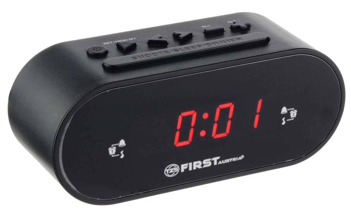 First FA-2406-5-BA радиочасыFA-2406-5-BAРадиочасы First FA-2406-5-BA LCD-дисплей 0.8 (красный).Подключение батареи 1x3V SR2032