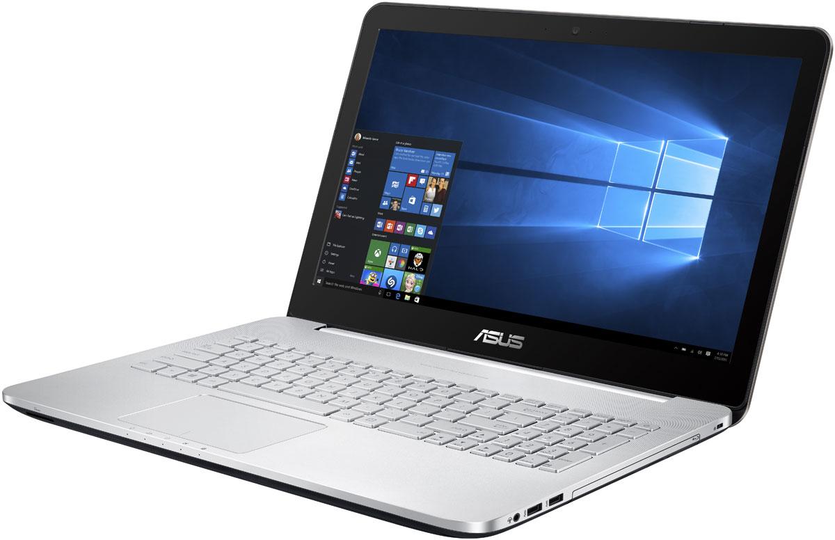 ASUS N552VX, Silver (N552VX-FW356T)N552VX-FW356TASUS N552VX - современный ноутбук, оптимизированный под мультимедийные приложения. Обладая мощным процессором и видеокартой, дисплеем формата Full HD и высококачественной встроенной аудиосистемой с технологией SonicMaster, модель N552 предлагает всем пользователям получить яркие впечатления от живого звука и красочного изображения.За высокую скорость работы различных приложений на ноутбуке VivoBook Pro N552 отвечает четырехъядерный процессор Intel Core i7-6700HQ, дополненный 16 гигабайтами оперативной памяти стандарта DDR4, а твердотельный накопитель, подключенный по шине PCIe x4, обеспечивает быстрое чтение и запись пользовательских файлов.Просмотр фильмов, редактирование изображений и видеороликов, новейшие компьютерные игры - ноутбук VivoBook Pro N552 способен справиться с любыми задачами, связанными с графикой, ведь в его конфигурацию входит мощная дискретная видеокарта NVIDIA GeForce GTX 950M.Дисплей данного ноутбука может похвастать расширенным цветовым охватом. Он способен отображать 72% оттенков цветового пространства NTSC, 100% оттенков пространства sRGB и 74% оттенков пространства AdobeRGB. Иными словами, изображение на его экране будет отличаться более точной цветопередачей по сравнению с тем, на что способны обычные ноутбучные дисплеи.Имея размер в 15,6 дюймов, IPS-дисплей ноутбука VivoBook Pro N552 обладает в два раза большим разрешением как по вертикали, так и по горизонтали по сравнению со стандартными дисплеями формата Full-HD, а это означает невероятно высокую пиксельную плотность - 282 пикселя на дюйм! В результате любые фотографии и видеоролики, снятые с высоким разрешением, будут выглядеть на экране этого ноутбука невероятно четко.Превосходный звук нового ноутбука ASUS обеспечивает технология SonicMaster, разработанная совместно со специалистами фирмы ICEpower. Она представляет собой комплекс аппаратных и программных средств, выдающих беспрецедентное для мобильных компьютеров качество звучания.Для н