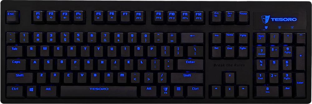 Tesoro Technology Tesoro Excalibur V2 (Kailh Blue) игровая клавиатура TS-G7NL-V2