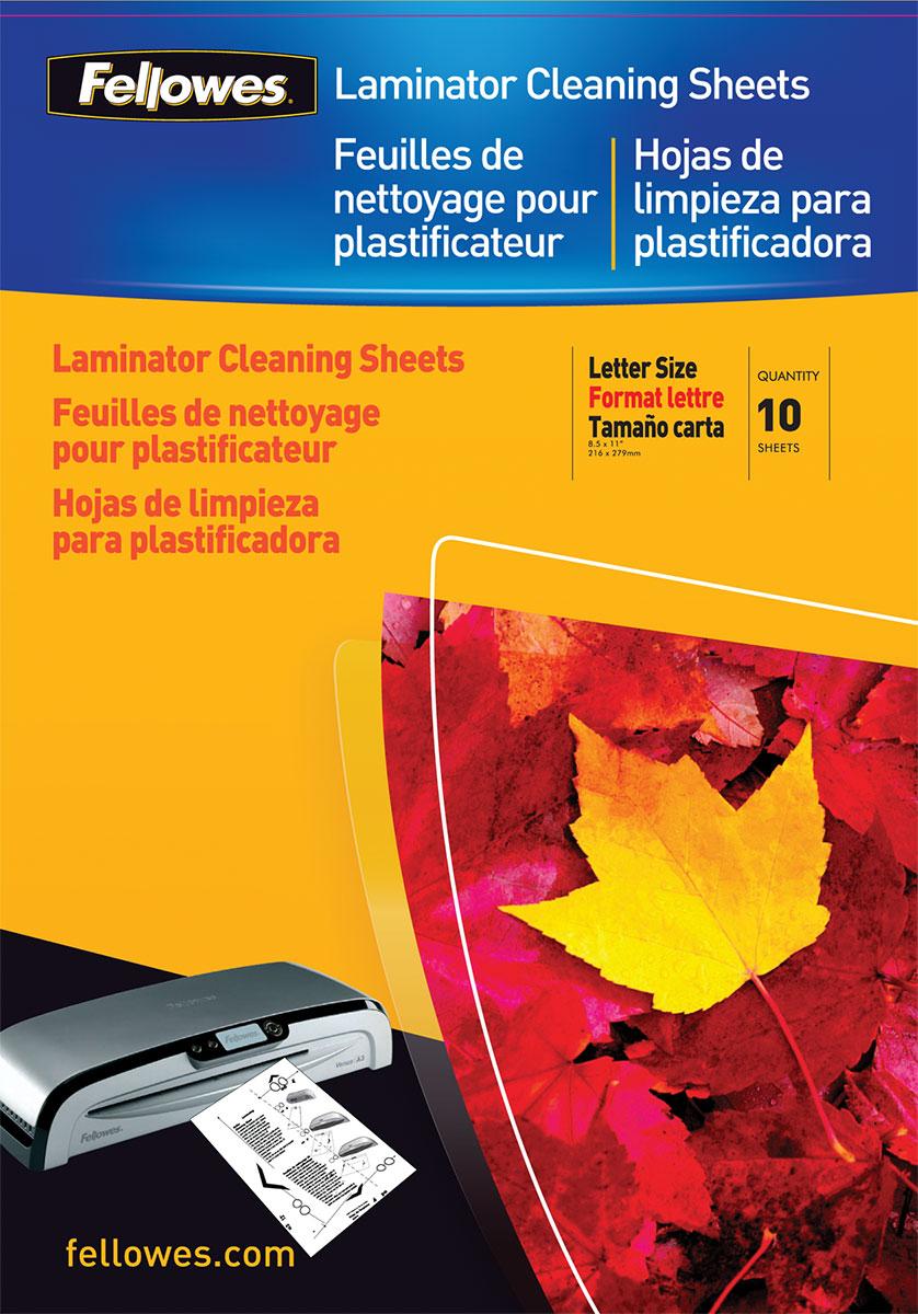 Fellowes FS-53206 чистящий лист для ламинаторов (10 шт)