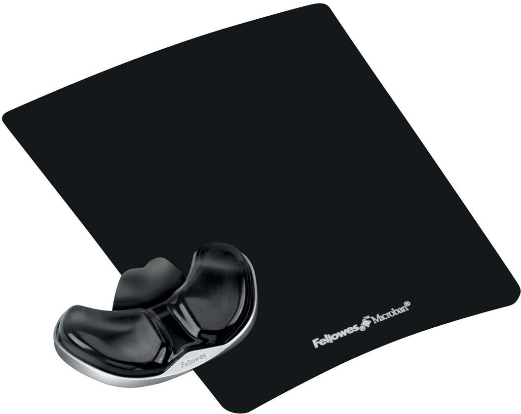Fellowes Health-V Crystals, Black коврик для мыши