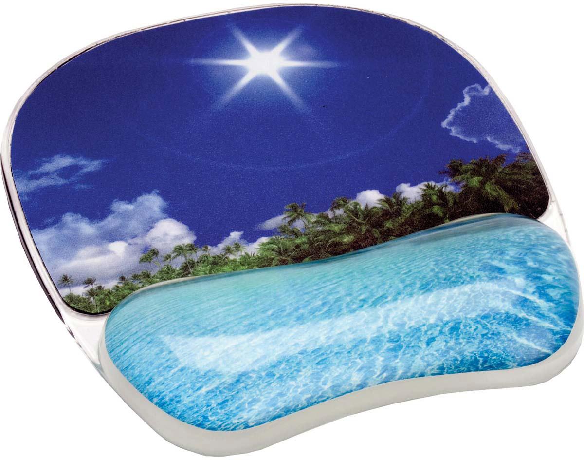 Fellowes Photo Gel Тропический пляж коврик для мыши