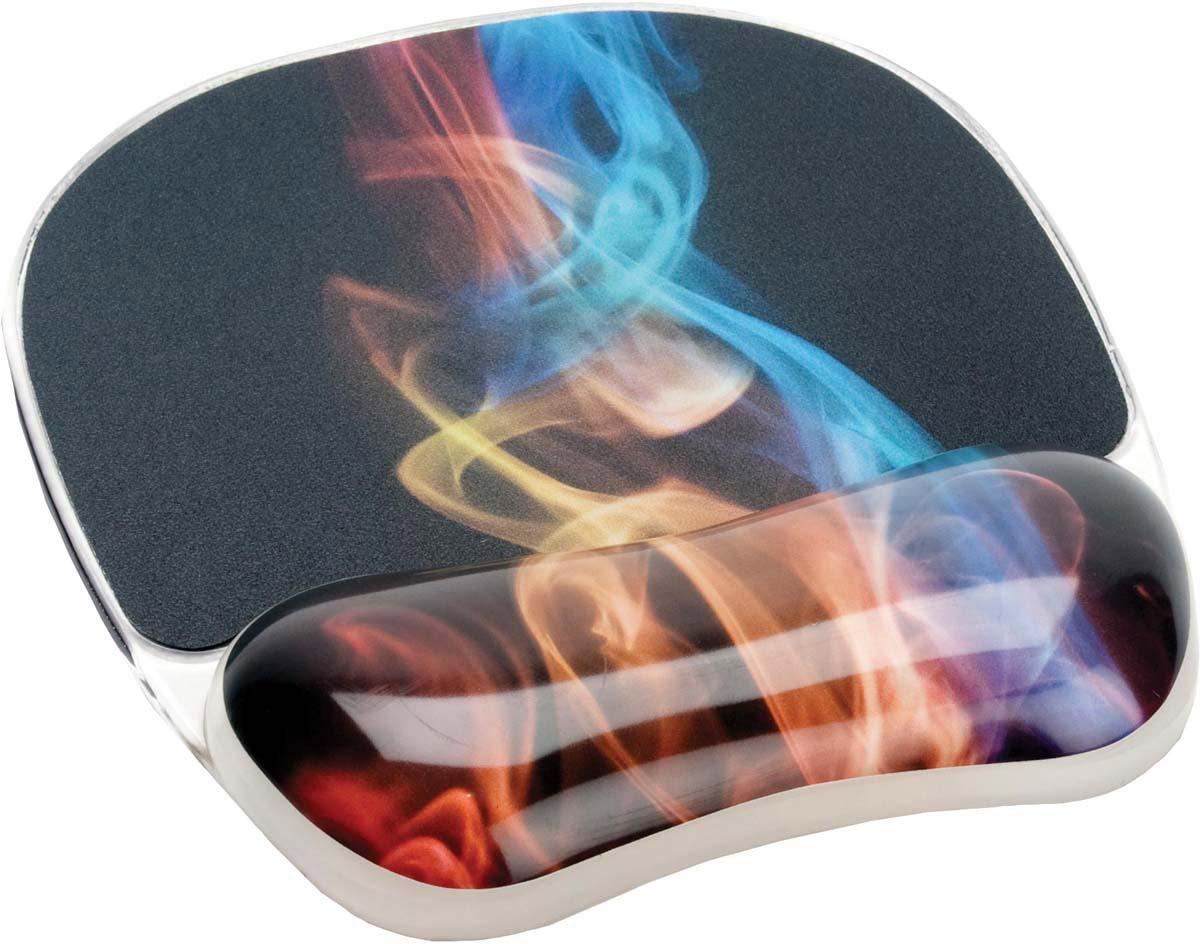 Fellowes Photo Gel Радужный дым коврик для мыши