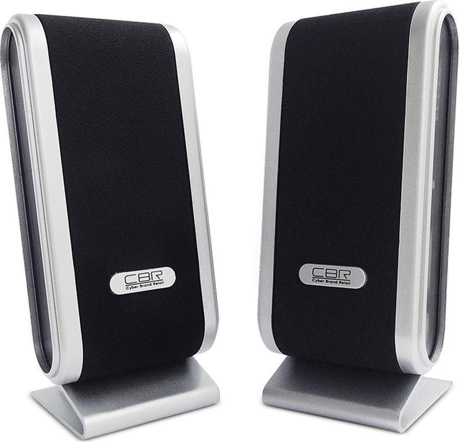 CBR CMS 299, Black Silver акустическая системаCMS 299Выходная мощность RMS - 6 Вт (3 х 2) Диаметр динамиков - 5,7 см Частотный диапазон - 90-20000 Гц Отношение сигнал/шум - 60 дБ Материал корпуса - ABS-пластик Источник питания - USB-порт Интерфейс соединения - проводное 3,5 мм Регулятор громкости - Есть Разъем для наушников - Есть