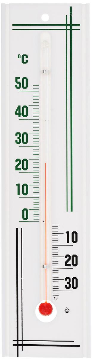 Термометр комнатный Стеклоприбор, цвет: белый, зеленый, черный. П-3300187_зеленыйТермометр комнатный Стеклоприбор применяется для измерения температуры воздуха в помещении. Термометр выполнен из пластика, а колба изготовлена из ударопрочного стекла. Термометр оснащен широкой, подробной и наглядной шкалой. Изделие имеет широкий рабочий диапазон - от -30 и до +50°С со шкалой деления в 10°С. Цена деления составляет 1°С. Изделие имеет специальное отверстие для крепления. Не содержит ртути. Для хорошего самочувствия и здоровья идеальный микроклимат в доме создаст температура +18…+24°С.
