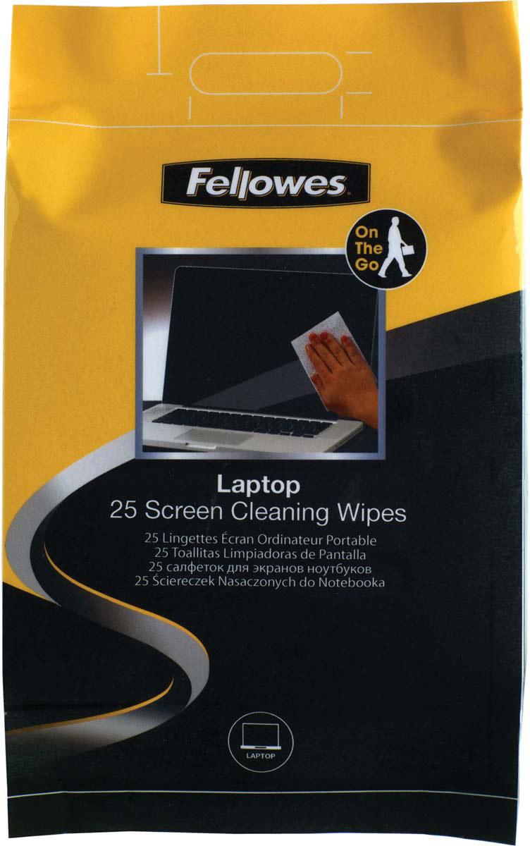 Fellowes FS-99674 чистящие салфетки для экранов ноутбуков (25 шт)