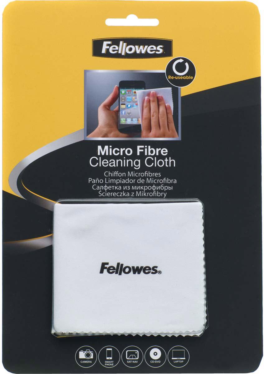 Fellowes FS-99745 салфетка из микрофибры для чистки оптики видеокамер, мониторов, CD/DVDFS-99745Тканевая салфетка из микрофибры FS-99745 позволяет безопасно удалять пыль и частицы грязи без применения жидких чистящих средств. Идеальна для чистки объективов фото и видеокамер, CD, DVD и экранов мобильных телефонов. Салфетка не содержит спирта, дерматологически безопасна. Полностью биологически разлагаема.