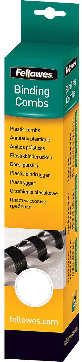 Fellowes FS-53474, White пружина для переплета, 19 мм (100 шт)FS-53474Пружина пластиковая. Обладает высокой упругостью на разжим, надежно удерживает листы в переплете. Возможно многократное использование. Предназначена для переплета всех видов документов.