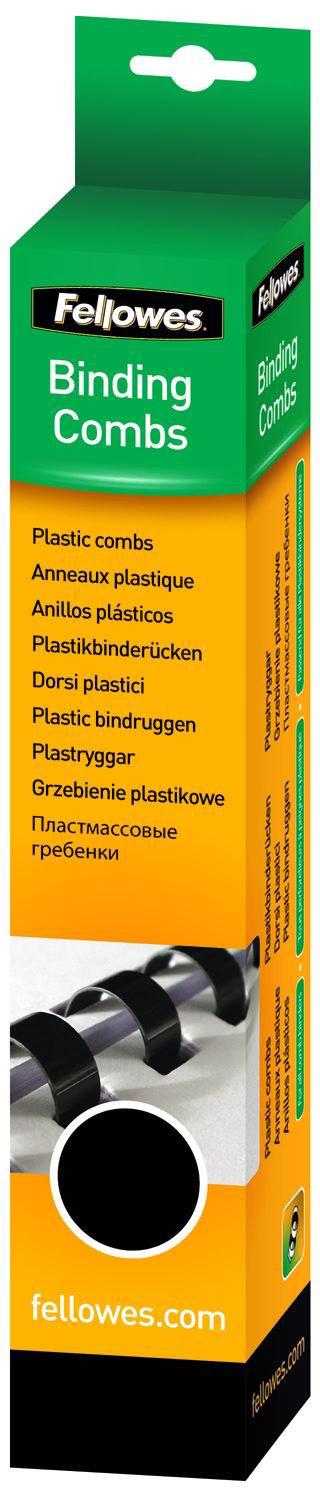 Fellowes FS-53501, Black пружина для переплета, 45 мм (50 шт)FS-53501Пружина пластиковая. Обладает высокой упругостью на разжим, надежно удерживает листы в переплете. Возможно многократное использование. Предназначена для переплета всех видов документов.