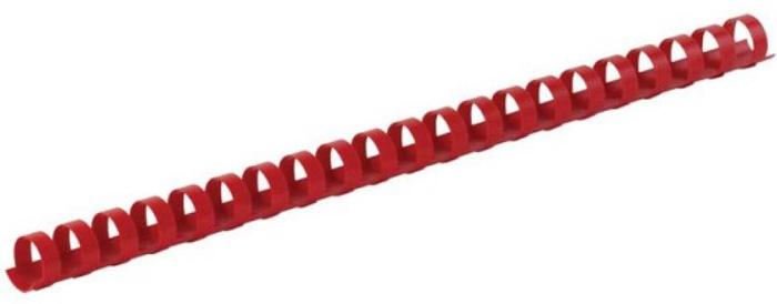 Fellowes FS-53460, Red пружина для переплета, 10 мм (100 шт)FS-53460Пружина пластиковая. Обладает высокой упругостью на разжим, надежно удерживает листы в переплете. Возможно многократное использование. Предназначена для переплета всех видов документов.