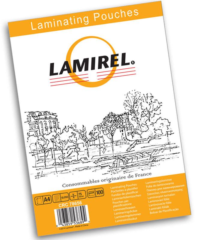 Lamirel А4 LA-78656 пленка для ламинирования, 75 мкм (100 шт)LA-78656Пакетная пленка Lamirel LA-78656 предназначена для защиты документов от нежелательных внешних воздействий. Обеспечивает улучшенную защиту от грязи, пыли, влаги. Документ дополнительно получает жесткость на изгиб и защиту от механического воздействия и потертостей. Идеально подходит для интенсивной эксплуатации. Глянцевое покрытие улучшает внешний вид документа: краски становятся глубже, ярче и контрастнее.