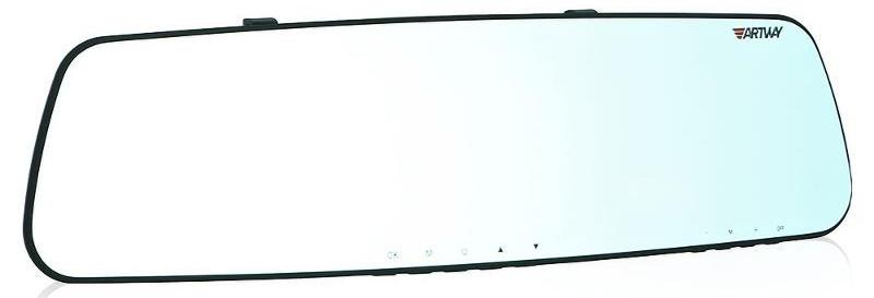 Artway MD-161, Black видеорегистратор с радар-детектором4620019035679Многофункциональное устройство Artway MD-161 заменит для автомобилиста сразу три устройства: видеорегистратор, радар-детектор и GPS-информатор. При этом перечисленная электроника собрана в корпусе зеркала заднего вида, неприметном и в салоне автомобиля. Большой и яркий дисплей диагональю 4,3 с высоким разрешением позволит вам с комфортом просматривать отснятые видеоролике на самом видеорегистраторе, разглядеть все детали или c удобством управлять настройкой видеорегистратора. Камера видеорегистратора с широким углом обзора 140° захватывает соседние и встречные полосы движения, номера движущихся вокруг вас автомобилей, а также сигналы светофора. Такой круг обзора позволит разрешить сложные спорные ситуации и предоставит видео отличного качества с места событий. GPS-информатор оповещает водителя о приближении к радарным комплексам, в том числе к малошумным радарам и системам контроля средней скорости, таким как АВТОДОРИЯ с...