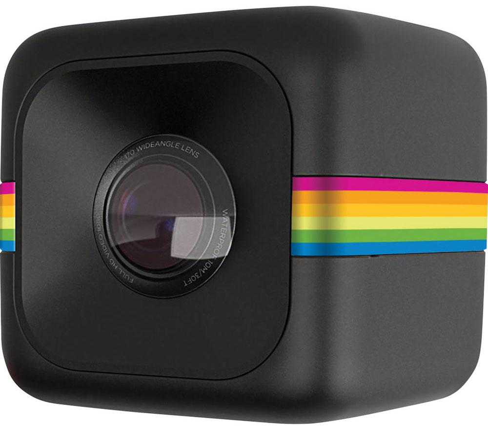 Polaroid Cube+, Black экшн-камераPOLC3BK+Polaroid Cube+ — это обновлённая уникальная экшн-камера, заключенная в миниатюрный корпус в форме куба. Изменения коснулись матрицы и качества съёмки: теперь можно снимать видео в 1440p, а фото - в 8 Мп. Плюс появилась долгожданная возможность подключаться к камере по Wi-Fi со смартфона на iOS или Android для настройки камеры и просмотра материала. Благодаря необычной конструкции Cube, вы всегда сможете носить камеру с собой, а встроенный магнит позволит прикрепить к ее к любой металлической поверхности, будь то велосипедная рама или капот автомобиля, для получения самых впечатляющих кадров. Сам корпус имеет брызго- и пылезащищённую конструкцию, так что, в какой бы ситуации вы не оказались, Polaroid Cube+ останется практически неуязвимой. Кроме того, в продаже имеется дополнительный защитный корпус для погружения в воду (на глубину до 5 м) и крепления, позволяющие использовать камеру в любых условиях, даже самых экстремальных. Несмотря на компактные...