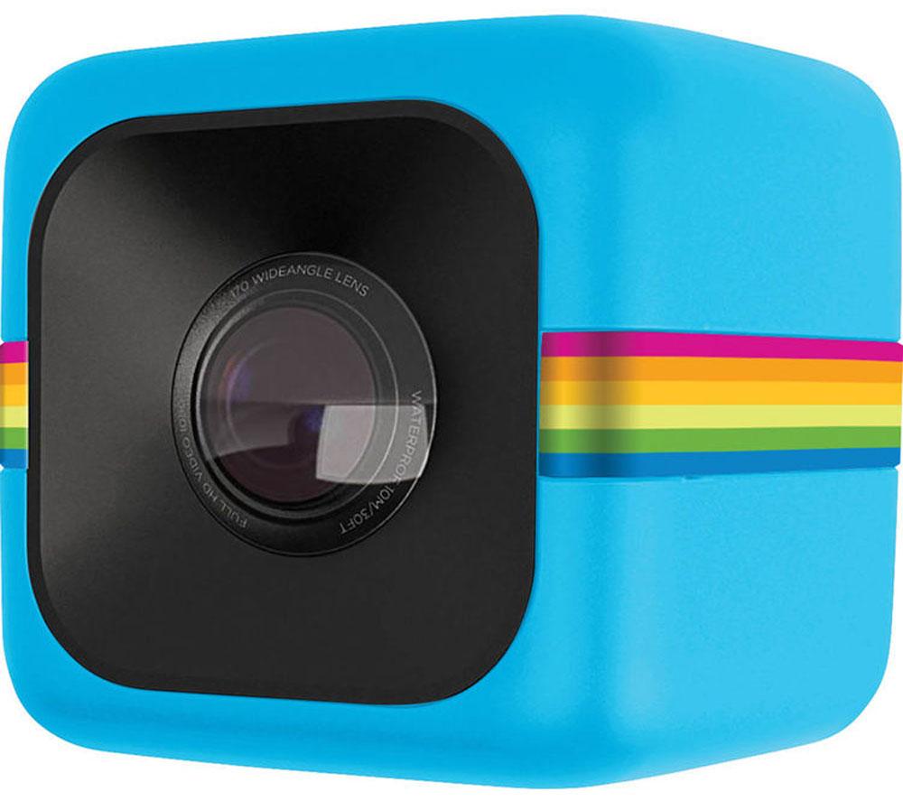 Polaroid Cube+, Blue экшн-камераPOLC3BL+Polaroid Cube+ - это обновлённая уникальная экшн-камера, заключенная в миниатюрный корпус в форме куба. Изменения коснулись матрицы и качества съёмки: теперь можно снимать видео в 1440p, а фото - в 8 Мп. Плюс появилась долгожданная возможность подключаться к камере по Wi-Fi со смартфона на iOS или Android для настройки камеры и просмотра материала. Благодаря необычной конструкции Cube, вы всегда сможете носить камеру с собой, а встроенный магнит позволит прикрепить к ее к любой металлической поверхности, будь то велосипедная рама или капот автомобиля, для получения самых впечатляющих кадров. Сам корпус имеет брызго- и пылезащищённую конструкцию, так что, в какой бы ситуации вы не оказались, Polaroid Cube+ останется практически неуязвимой. Кроме того, в продаже имеется дополнительный защитный корпус для погружения в воду (на глубину до 5 м) и крепления, позволяющие использовать камеру в любых условиях, даже самых экстремальных. Несмотря на компактные...