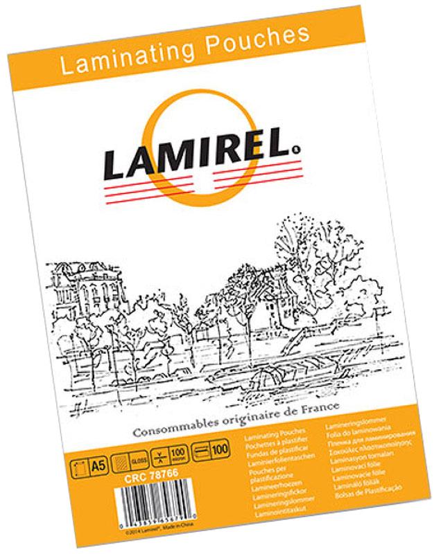 Lamirel А5 LA-78766 пленка для ламинирования, 100 мкм (100 шт)LA-78766Пакетная пленка Lamirel LA-78766 предназначена для защиты документов от нежелательных внешних воздействий. Обеспечивает улучшенную защиту от грязи, пыли, влаги. Документ дополнительно получает жесткость на изгиб и защиту от механического воздействия и потертостей. Идеально подходит для интенсивной эксплуатации.Глянцевое покрытие улучшает внешний вид документа: краски становятся глубже, ярче и контрастнее.