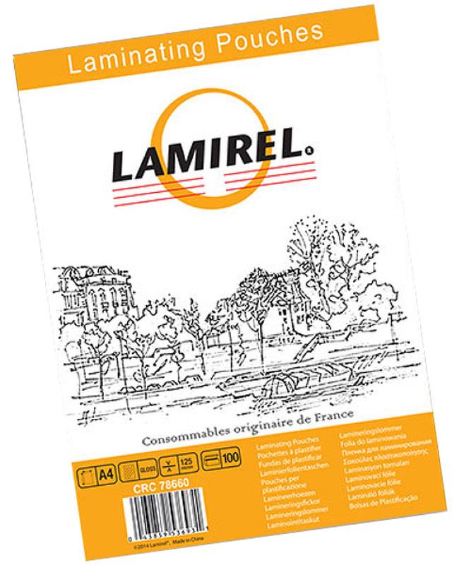 Lamirel А4 LA-78660 пленка для ламинирования, 125 мкм (100 шт)LA-78660Пакетная пленка Lamirel LA-78660 предназначена для защиты документов от нежелательных внешних воздействий. Обеспечивает улучшенную защиту от грязи, пыли, влаги. Документ дополнительно получает жесткость на изгиб и защиту от механического воздействия и потертостей. Идеально подходит для интенсивной эксплуатации. Глянцевое покрытие улучшает внешний вид документа: краски становятся глубже, ярче и контрастнее.