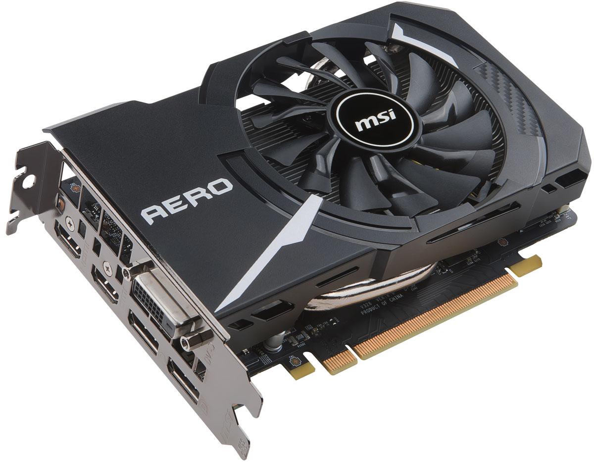 MSI GeForce GTX 1060 Aero ITX 3G OC 3GB видеокарта
