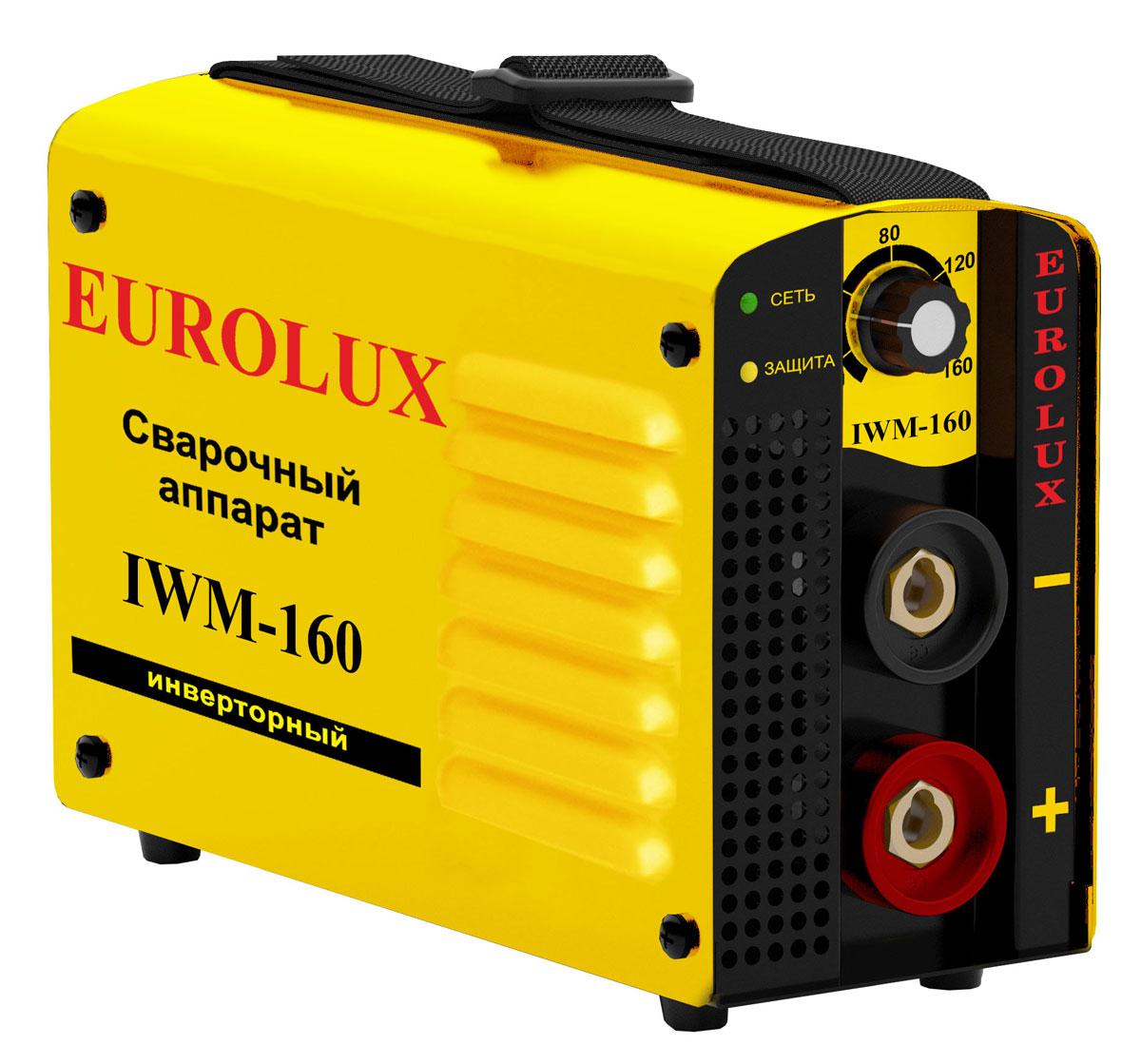 Инверторный сварочный аппарат Eurolux IWM-160 65/26.
