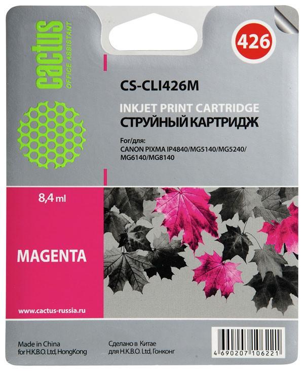 Cactus CS-CLI426M для CanonCS-CLI426MКартридж CS-CLI426 для струйных принтеров Canon.
