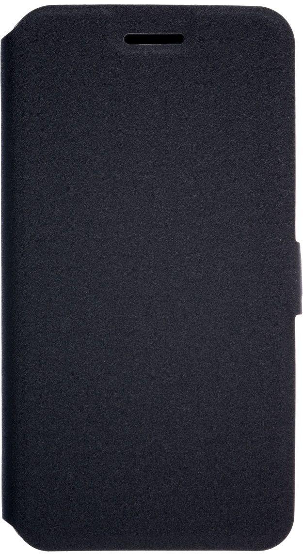 Prime Book чехол для LG K10 (2017), Black2000000135113Чехол надежно защищает ваш смартфон от внешних воздействий, грязи, пыли, брызг. Он также поможет при ударах и падениях, не позволив образоваться на корпусе царапинам и потертостям. Чехол обеспечивает свободный доступ ко всем функциональным кнопкам смартфона и камере.