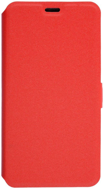 Prime Book чехол для Meizu M5S, Red2000000135069Чехол надежно защищает ваш смартфон от внешних воздействий, грязи, пыли, брызг. Он также поможет при ударах и падениях, не позволив образоваться на корпусе царапинам и потертостям. Чехол обеспечивает свободный доступ ко всем функциональным кнопкам смартфона и камере.