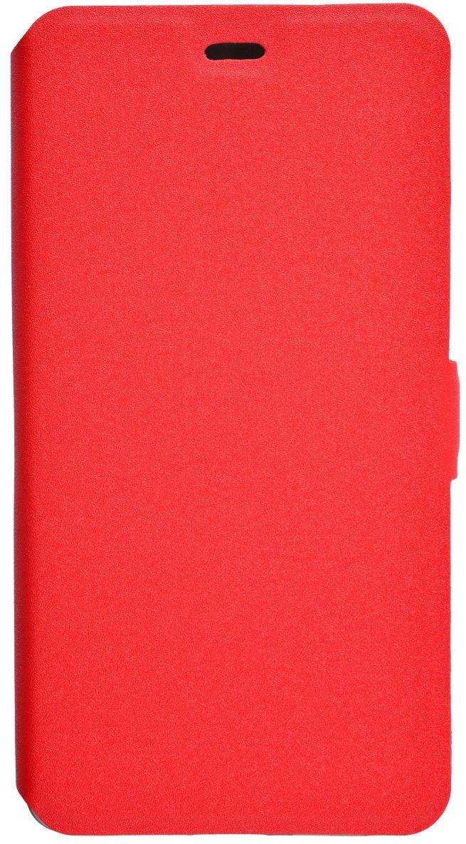Prime Book чехол для Xiaomi RedMi 4, Red2000000123677Чехол надежно защищает ваш смартфон от внешних воздействий, грязи, пыли, брызг. Он также поможет при ударах и падениях, не позволив образоваться на корпусе царапинам и потертостям. Чехол обеспечивает свободный доступ ко всем функциональным кнопкам смартфона и камере.