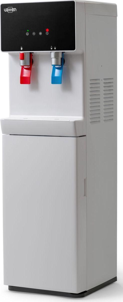 Vatten ОV705WK, White пурифайер5053Пурифайер VATTEN ОV705WK+UFмощность нагрева 650 ВТ, охлаждения 100 вт. Произ-ть хол/гор- 2/6 л/час ультрофильтрациякомпрессорное охлаждение, пуш кран, напольный, встр. Элект. датчик от протечек,