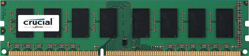 Crucial DDR3L 2Gb 1600 МГц модуль оперативной памяти (CT25664BD160B)CT25664BD160BНебуферезированная память Crucial DDR3L предоставляет качество работы, надежность и производительность, требуемую для современных компьютеров сегодня. Этот модуль емкостью 2 ГБ спроектирован для работы на частоте 1600 МГц PC3-12800 при таймингах CL-11. Благодаря низкому напряжению (1,35 В), снижается потребление энергии, что обеспечивает отсутствие нагрева и бесшумную работу ПК.