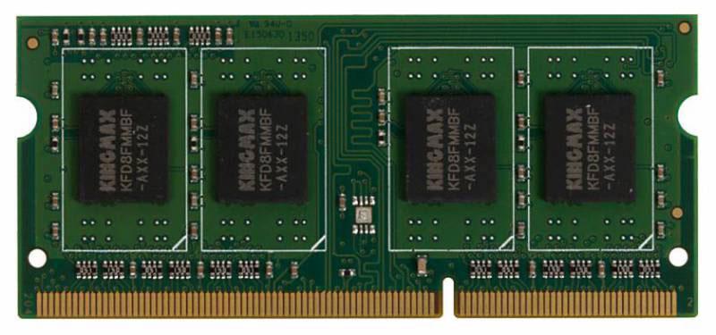 Kingmax SO-DIMM DDR4 4Gb 2133 МГц модуль оперативной памяти (4096/2133)4096/2133Оперативная память Kingmax SO-DIMM произведена по стандарту DDR4. Это значит, что она имеет функцию энергосбережения и к тому же спасает от перегрева ноутбук. Объем данной ОЗУ составляет 4 ГБ. Эта оперативная память чаще используется в ноутбуках или нетбуках, так как конструкция ее планки SO-DIMM больше подходит для этих устройств. Максимально используйте потенциал имеющейся памяти и наслаждайтесь быстрой загрузкой и сохранением своих любимых приложений.